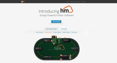 HoldemManager Cloud Home Page